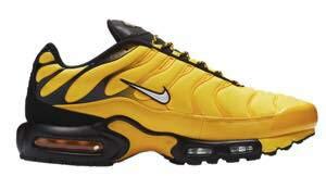 [ナイキ] メンズ スニーカー Air Max Plus Frequency Pack エアマックス プラス マップラ Tour Yellow/White/Black_28 [並行輸入品]