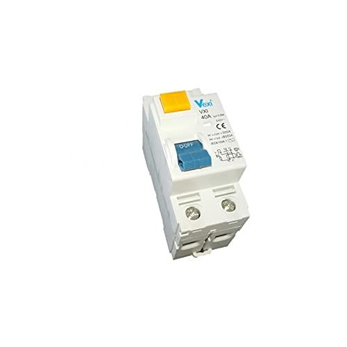 Vexi Interruptor diferencial 2P 40A 30MA