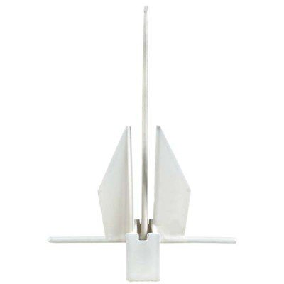 AMRG-P-13.1 Yachting Series PVC Coated Fluke Anchor fits boats up to 33'