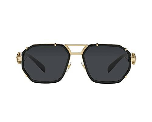Gafas de Sol Versace ENAMEL MEDUSA VE 2228 Gold/Dark Grey 59/18/145 hombre