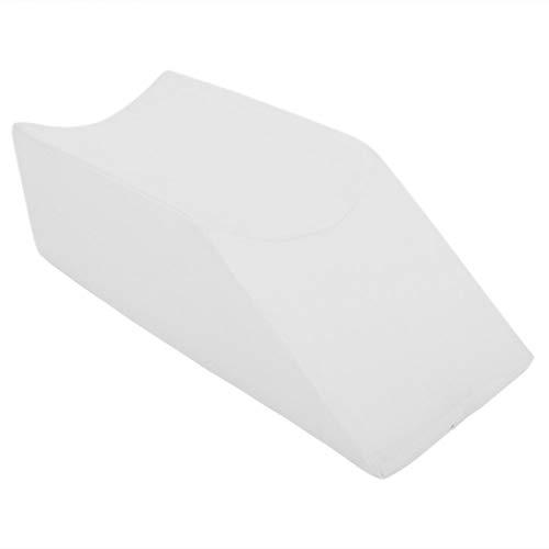 Aoutecen Cuscino per Il Supporto delle Gambe Cuscino per l'elevazione delle Gambe per l'anca Posteriore(Bianca, 50 * 20 * 15 cm)