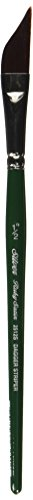 Silver Brush Limited, Ruby Satin, Dagger Striper Paint Brush - Short Handle, 1/2'