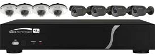 Speco ZIPL8BD2 8-Channel Plug & Play NVR and IP Kit, 4 Dome & 4 Bullet Cameras, 2TB (ZIPL8BD2)