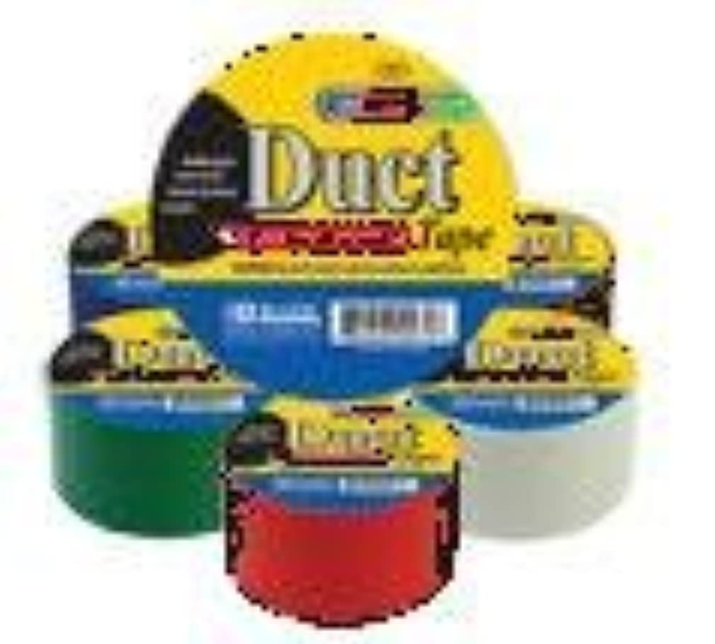 Bazic All Purpose (Art) Duct Tape - 6 Roll Variety Pack