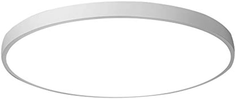 Moderne minimalistische LED-Deckenleuchte Highlight weies Licht Runde Schlafzimmer Lampe Acryl Wohnzimmer Studie Balkon Küche Licht (Farbe   Wei-40  5cm(24W))