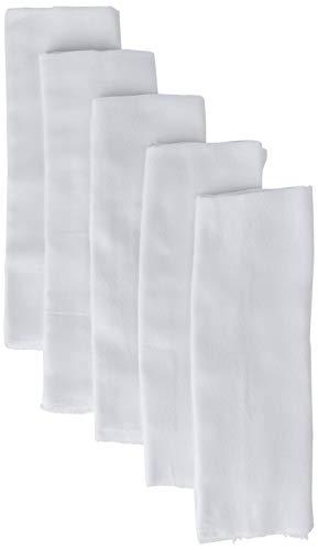 Fralda Papi Luxo Branca 70CM X 70CM PCT 05 UN, Papi Textil, Branco