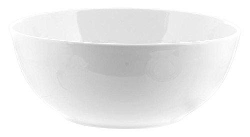 H&H Insalatiera, Bianco, 26 cm, Ceramica