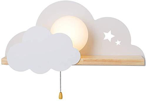 Decoración de habitación Luces de noche, luces de neón Señales de nube E27 Lámpara de pared, luz de pared, sala de estar, decoración del hogar, apliques de pared para fiestas, cumpleaños, vacaciones,