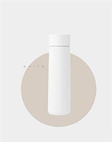 yywl - Termo de Viaje Saludable con Aislamiento al vacío, Botella con Agua para Beber, recordatorio de Temperatura, Pantalla táctil, 380 ml