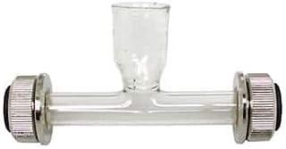 لوله پلاریمتر شیشه ای Kruss PRG-100-E ، قیف ، 100 میلی متر