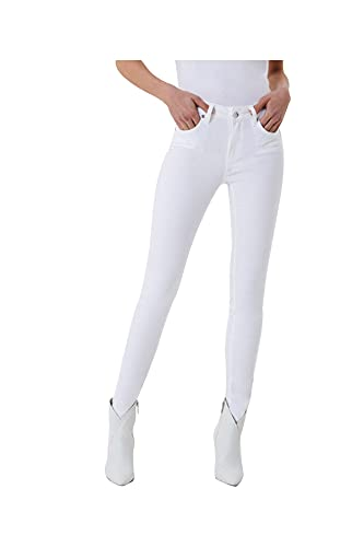 Jeans Liu.Jo MainApps - Pantalones vaqueros para mujer blanco óptico 38