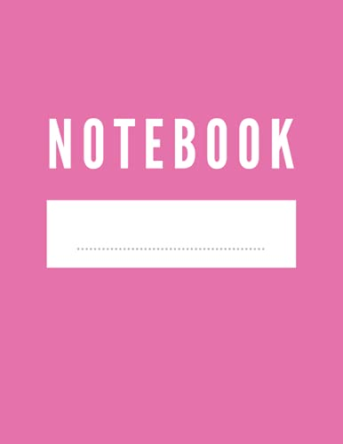 notebook simple and elegant : rosy cover , lined pages, notebook for women: Cover - Size (8.5 x 11 inches) 120 Pages (Notebook s