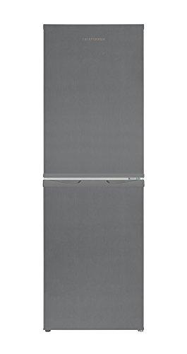Telefunken KTFK271FS2 Kühl-Gefrier-Kombination /110 L Kühlschrank / 38 L Gefrierschrank / 148 kWh/Jahr / Temperaturregelung / Abtauautomatik / Silber