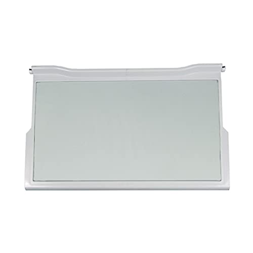 Bauknecht Whirlpool 481245088134 - Estante original para alimentos, placa de cristal, 474 x 290 x 32 mm, frigorífico, nevera automática, nevera y congelador, también Ignis, Philips, Ikea