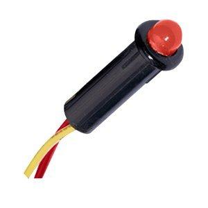 """The Amazing Quality Paneltronics LED Indicator Light - Red - 120 VAC - 1/4"""""""