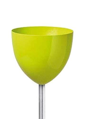 Scheurich Pflanzgefäß Skypot L Bright Green L: 20cm, B: 20cm, H: 135cm, Ø: 20cm