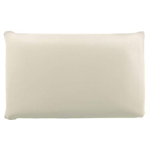 Edda Lux Funda para cojín de 72 x 42 cm y para almohada MaxxGoods de 70 x 42 cm, en muchos colores, 100% algodón, con cremallera, color natural