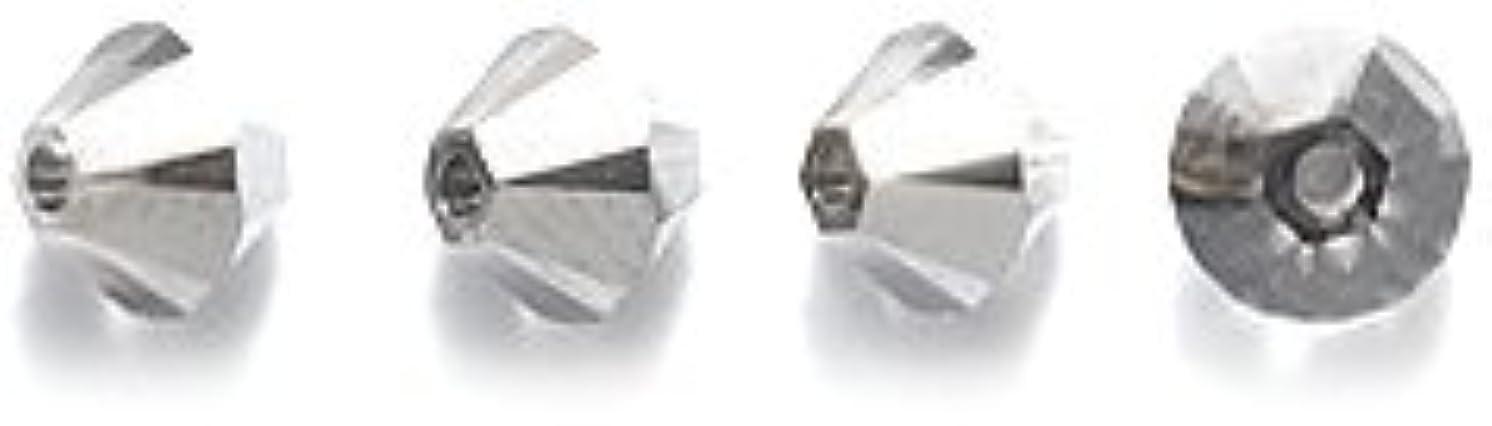 Swarovski 5328 Xilion Bicone Diamond Beads, Crystal Effects, Silver Night, 4-mm