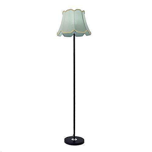 Lámpara de pie de tela simple europea 1.5M Luz de pie moderna...