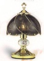 3 Way Touch Lamp, Black Color