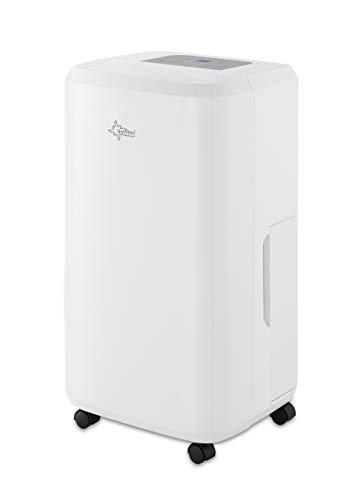 SUNTEC Luftentfeuchter Dryfix 20 Pure – für Räume bis 150 M³ (63 m2) | Raumentfeuchter mit 20 l/Tag Entfeuchtung | Entfeuchter elektrisch inkl. Luftreiniger Funktion + mobile Wäschetrocknung