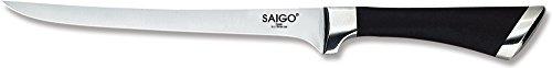 Saigo Combo SC-012 - Cuchillo de cocina JAMONERO 20cm