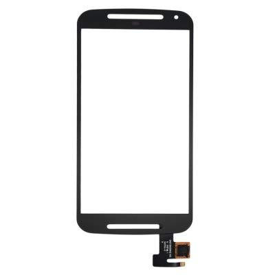 K4SS Touch Screen Digitizer Glass for Motorola Moto G2 2nd Gen - Colour (Black) (NO Display ONLY Touch Screen Please Check Properly Before Order)