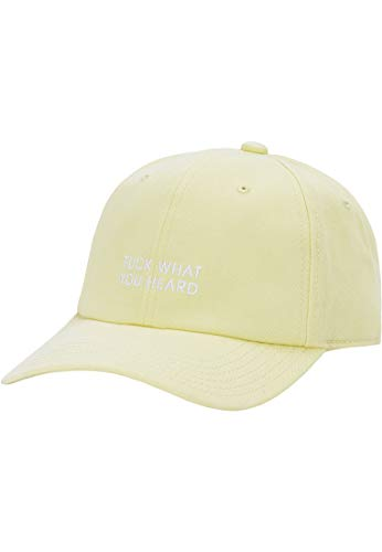 Casquette Cayler & Sons – Csbl What You Heard Curved jaune taille: OSFA (Taille pour tout)