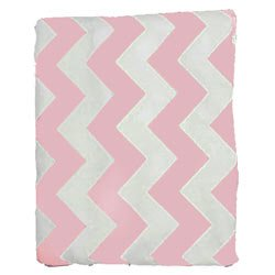 Chevron Bassinet Sheet Product OFFicial store - Size: 15x30 Pink Color: