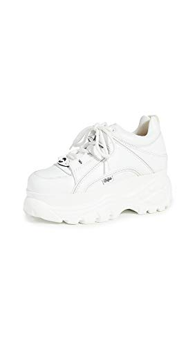 Buffalo London Damen Classics 2.0 Sneaker, Blanco, 38 EU