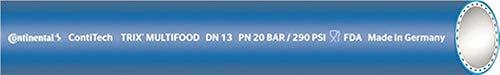 Lebensmittelschlauch TRIX® MULTI-FOOD, Innen-D. 25mm, blau, Wandstärke 7mm, 40m