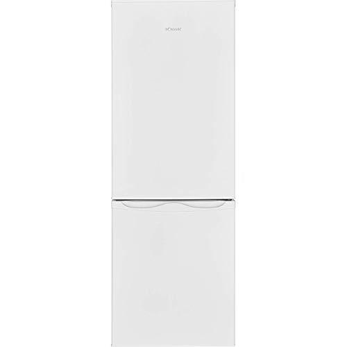 Bomann KG 320.1 Kühl-Gefrier-Kombination (Gefrierteil unten) / A++ / 143 cm / 160 kWh/Jahr / 122 L Kühlteil / 43 Gefrierteil / Abtauautomatik / weiß