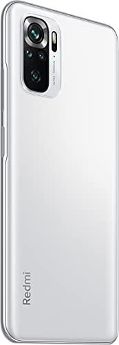 Redmi Note 10S Smartphone RAM 6 GB ROM 64 GB 6,43 '' AMOLED DotDisplay 64 MP Kamera 33 W Schnellladung MediaTek Helio G95 3,5 mm Kopfhörerbuchse 5000 mAh (typ) Akku weiß [Globale Version] - 6