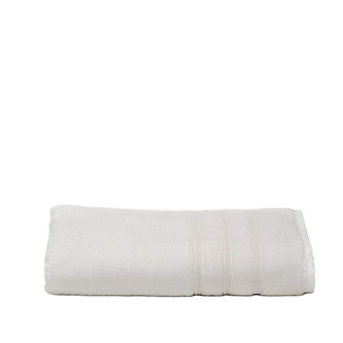Mosobam 700 GSM Hotel Luxury Bamboo-Cotton, Bath Towel 30X58, White, Quick Dry, Soft Spa-Like Turkish Bathroom Sets, Oversized Extra Large Body Sheet Shower Towels, Prime Bulk