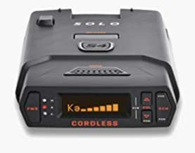 Escort Solo S4 Radar Detector - Cordless, Escort Live Crowd Sourcing, Extreme Range, False Alert Filter, OLED Display