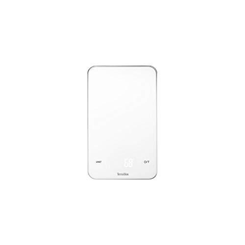 Terraillon 14455 Balance de Cuisine Smart LED, Blanc