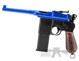 na HG196 Box Kanone Airsoft Pistol BB Gun 0,5 Joule günstigsten Preis (Black)