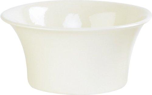 Ivyline Pot évasé Crème brillant Diamètre intérieur 24 cm (Import Grande Bretagne)