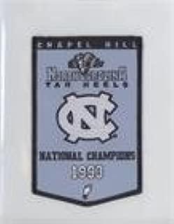 North Carolina (UNC) Tar Heels Team North Carolina (UNC) Tar Heels Team (Basketball Card) 2010-11 UD North Carolina Basketball - Championship Banner Patches #NoN