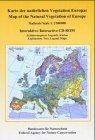 Karte der natürlichen Vegetation Europas, 1 CD-ROM; Map of the Natural Vegetation of Europe, 1 CD-ROMErläuterungstext, Legende, Karten. Für Windows 98, 98, SE, ME. Hrsg.: Bundesamt für Naturschutz. Dtsch.-Engl. 1 : 2,5 Mio.