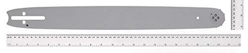Universal GM577614355 Espada para motosierra, Riel de guía para cadenas de sierra, longitud de 45 cm, buen control de corte, accesorios McCulloch, Standard, 28 V, 325' 1.3mm, BRO055