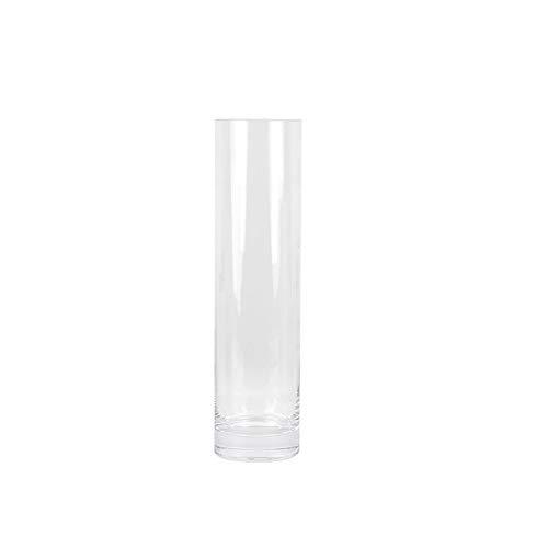 Cilindro de vidrio florero extra larga recta flor de la boda del...