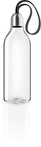 EVA SOLO | Backpack Trinkflasche 0,5l |BPA-freiem Kunststoff, Silikon und Edelstahl | Black