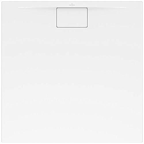 Villeroy & Boch Architectura Plaza Duschwanne, Weiß, 1000mmx1000 mm, 19mm, 15,5kg