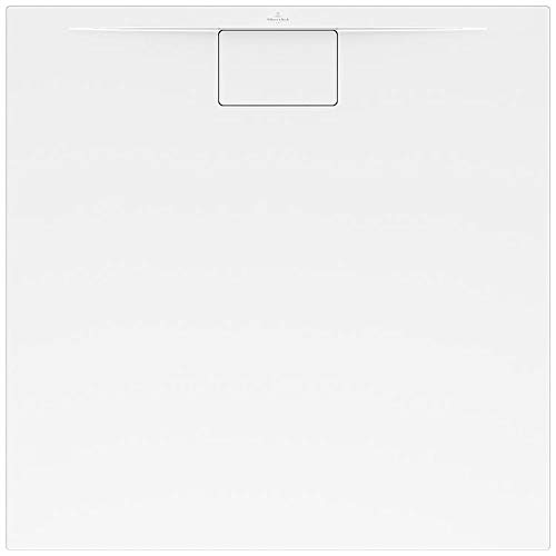 Villeroy & Boch Architectura Plaza douchebak, wit, 1000 mm x 1000 mm, 19 mm, 15,5 kg