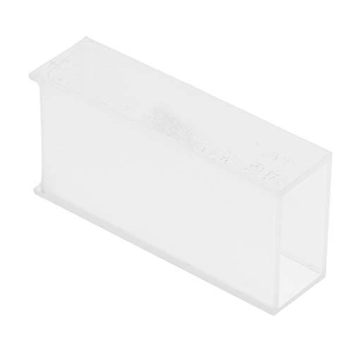 F Fityle 1 STK. Quarzglas-Küvette Spektrometer-Zelle für Chemie, Lebensmittel, Pharma, Umweltschutz, Kraftwerke - klar 20mm
