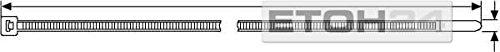 Hellermann Kabelbinder 250x4,8 mm (100 STK.) schwarz