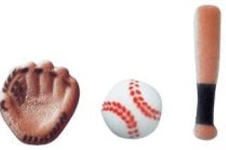 baseball bat sugar cookies