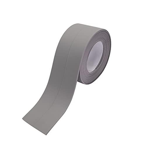 防水テープ 補修テープ 隙間テープ 台所コーナーテープ幅3.8cm*長さ3.2m カビ 油 汚れ 防止 強力 粘着 耐熱 キッチン 浴室 3.8cm*3.2m グレー