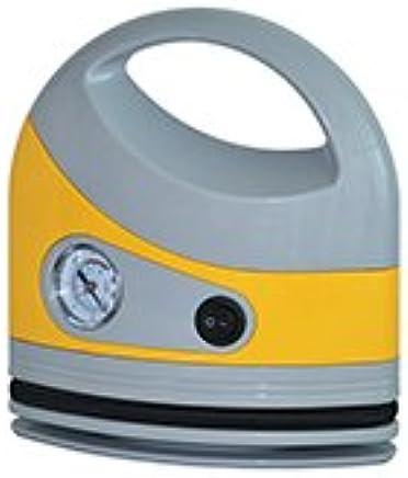 Portable Air Compressor Tire Inflator DC12V for Cars AL-A61 (Yellow)